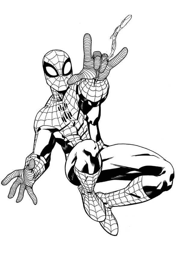 Best 146 Superhero Coloring Pages images on Pinterest ...