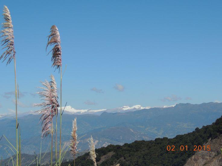 Vista sierra nevada del cocuy Boyaca Colombia