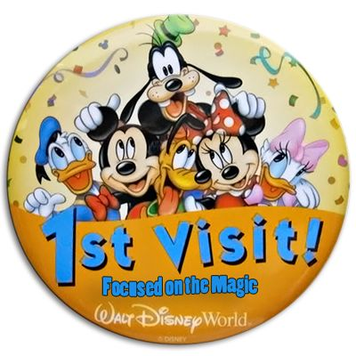 Advice for first time visitors to Disney World ~ Your 1st Visit Button