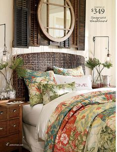 Gorgeous.  Also pinning to master bedroom.                                                                                                                                                      More