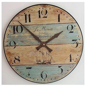 Driftwood Style clock
