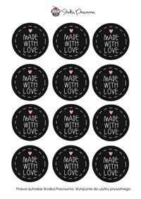 Torebka Made With Love - Słodka Pracownia - Przepisy | Dekoracje | Przyjęcia