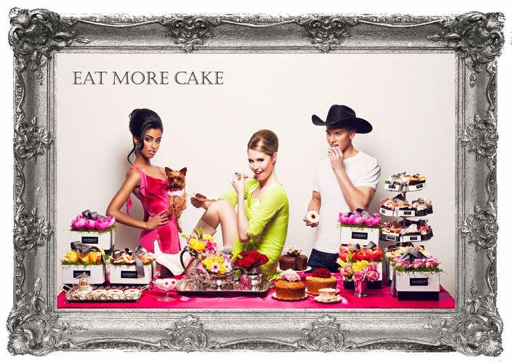 EAT MORE CAKE!! #lilyfieldcake #cakes #gifts #lilyfieldcake #giftideas #treat #winnipeg #order #uniquegifts