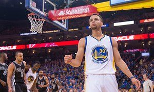 Golden State Warriors guard Stephen Curry has become just the third player to win back-to-back NBA MVPs awards.