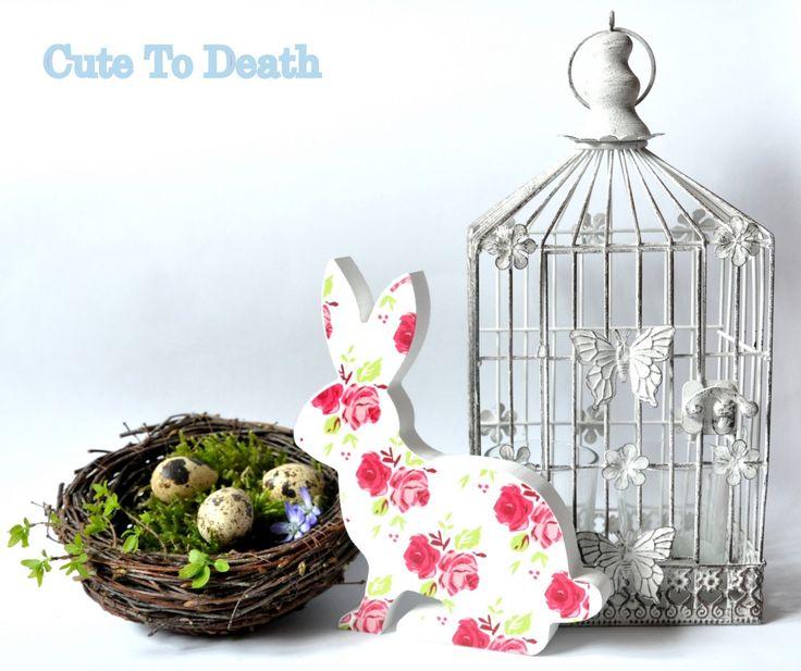 Cute To Death: Stylowe dekoracje wnętrz... aranżacje na Wielkanoc...