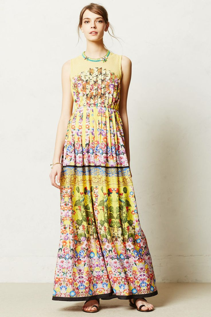 Lore maxi dress style pinterest for Anthropologie mural maxi dress