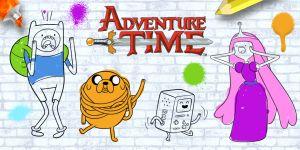 Gioca a Colora tu Adventure Time
