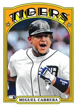 2013 Topps Archives #50 Miguel Cabrera Front