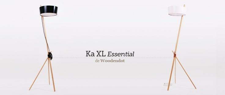 Lámpara de pie Ka XL Essential de Woodendot, elaborada artesanalmente en Íscar. Una lámpara ecológica y sostenible. #woodendot, #lamp, #lampara, #iluminacion, #lights, #lampe, #decoration, #decoracion, #interiorismo, #interiorsim, #home, #leuchte, #ecodesign, #sostenible, #handmade, #artesanal, #ecologica.