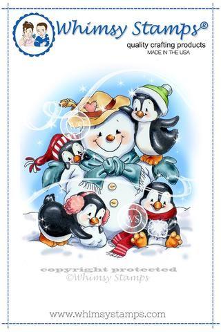*NEW Penguins Build a Snowman
