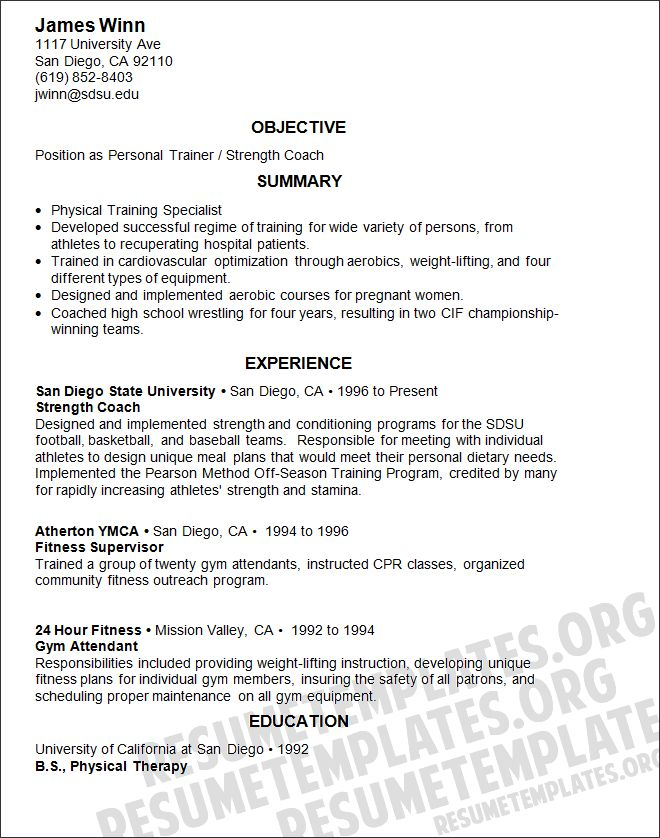 free sample computer trainer resume example created using word templates amp samples pinterest manager click and examples
