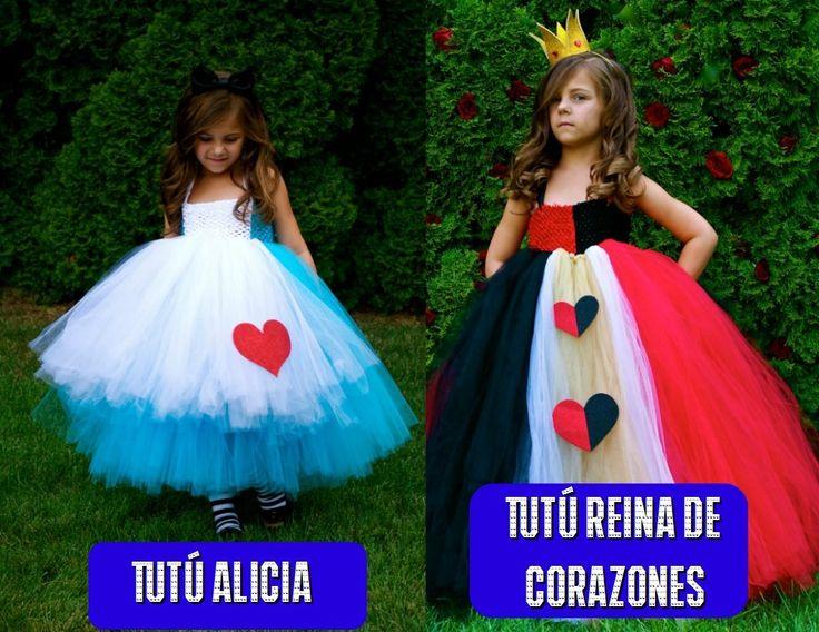 Disfraz alicia y reina de corazones disfraces pinterest - Disfraces para gemelos ...