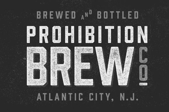 Check out Prohibition Typeface by Hold Fast Foundry on Creative Market