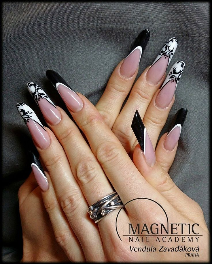 Best 25 magnetic nails ideas on pinterest magnetic nail polish nail design by vendula zavakov magnetic nail academy praha prinsesfo Choice Image