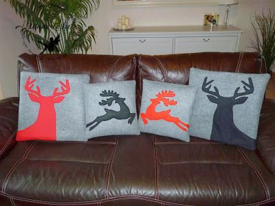 Christmas pillows, christmas decoration