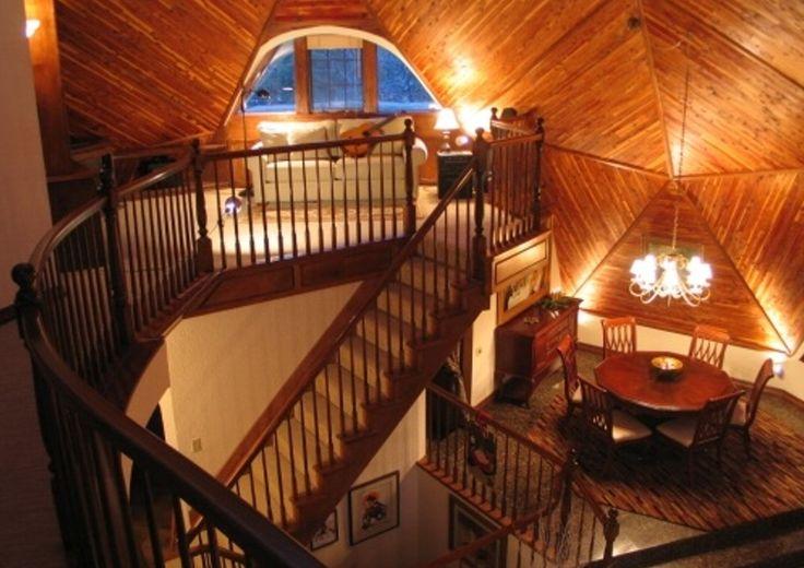 Купольные дома интерьеры