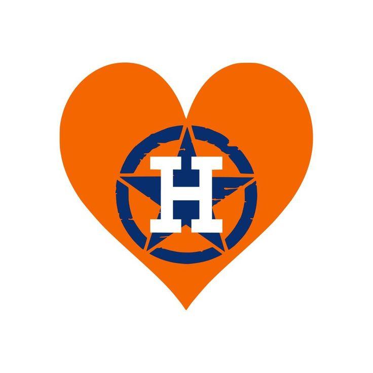Download Heart Astros SVG JPG Digital Download | Etsy (With images ...