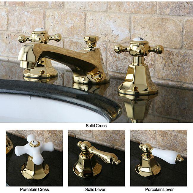 Awesome Websites Metropolitan Polished Brass Widespread Bathroom Faucet