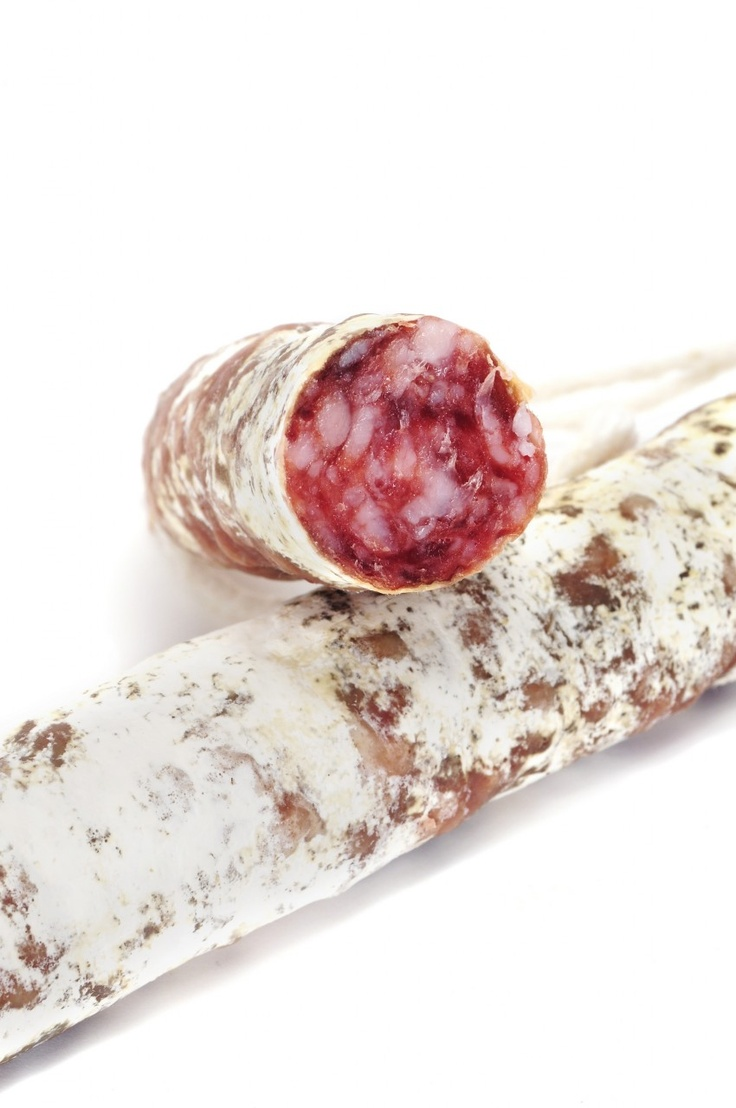 Fuet Spanish Sausage from Spain. Slice and eat, add a little bread and cheese if desired.