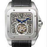 Cartier Santos 100 Flying Tourbillon XL Watch W2020017