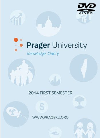 Prager University - 2014 First Semester (DVD) – Prager University Store