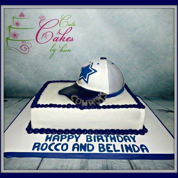 Dallas Cowboys cake by Cute Cakes by Kim