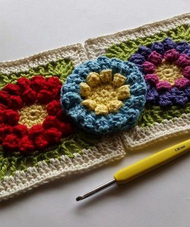 116 Best Crochet Flowers Images On Pinterest Crochet Flowers Knit