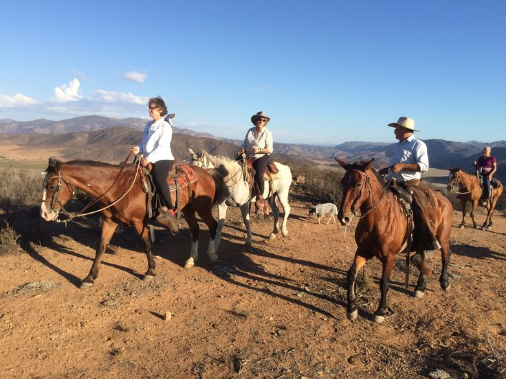 On top of the hills near Valle de Guadalupe, Baja California