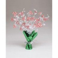 Candy Canes Foil Spray Centerpiece $24.95  20061602