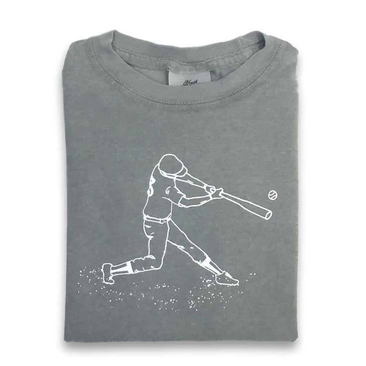 Baseball Player Short Sleeve Tee