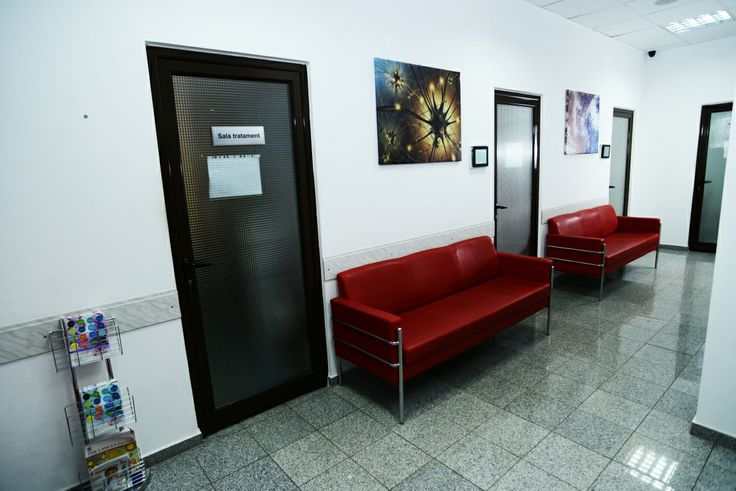 Klinica Doamna Ghica - sala de asteptare parter