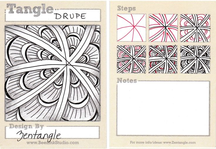 zentangle tile template - 17 best images about zentangle patterns on pinterest