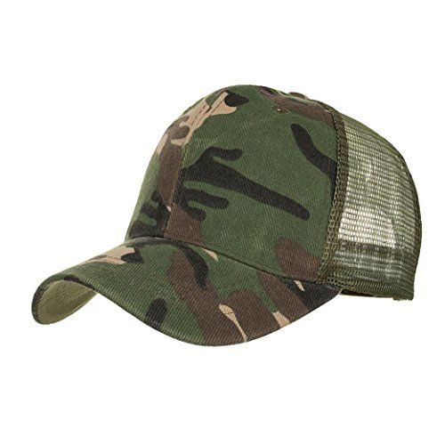 bea94031 CCSDR Unisex Hats,2018 Summer Baseball Caps Camouflage Mesh Casual ...