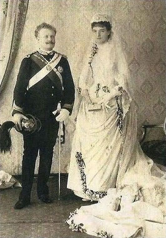 King Carlos of Portugal and Queen Amelia.