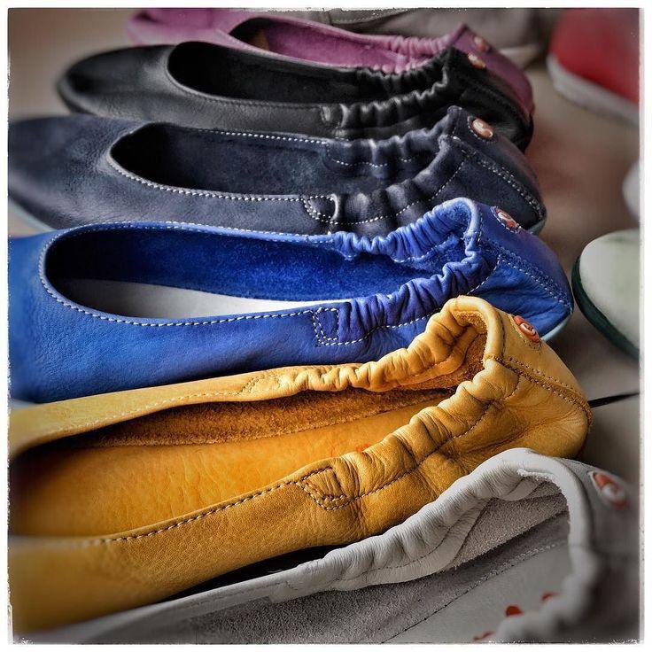 Welche Farben bringt der nächste Sommer? Die netten Leute von softinos haben es uns schon mal verraten...   #hoelschuh #emsdetten #softinos #ballerina   http://buff.ly/2uNTVhO