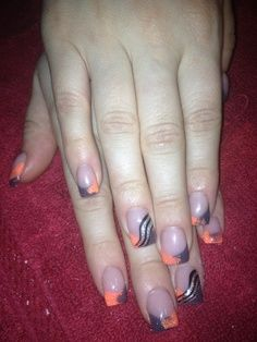 These cute nail designs are simple and cute for a night out at your friends house or just any night/day.!!!!