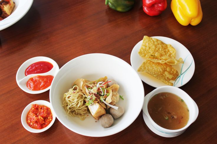 Try our Bakwan Malang at the Food Corner by the poolside.