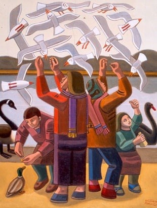 Another wonderful artist. William Patrick Roberts | View Thread | AdlandPro Community