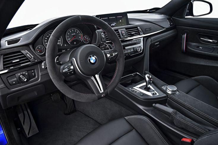 BMW M4 CS Interior 2018 - Best Wallpaper HD