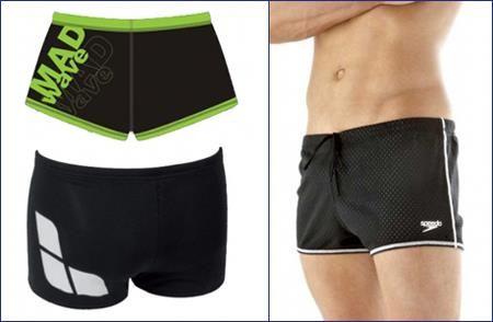 Спортивные шорты адидас для плавания в бассейне