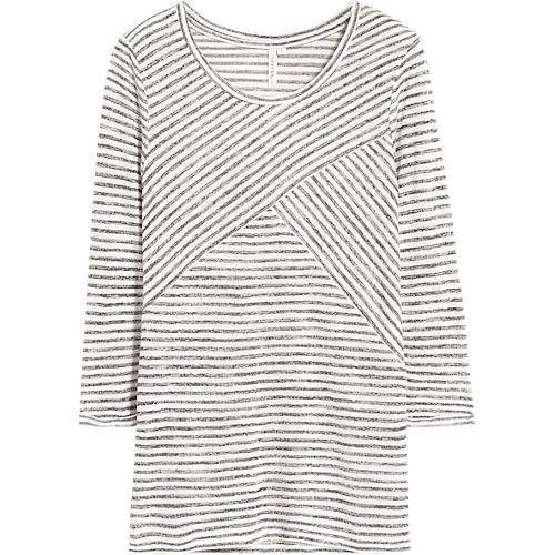 T-shirt, Gestreept T-shirt - Costes