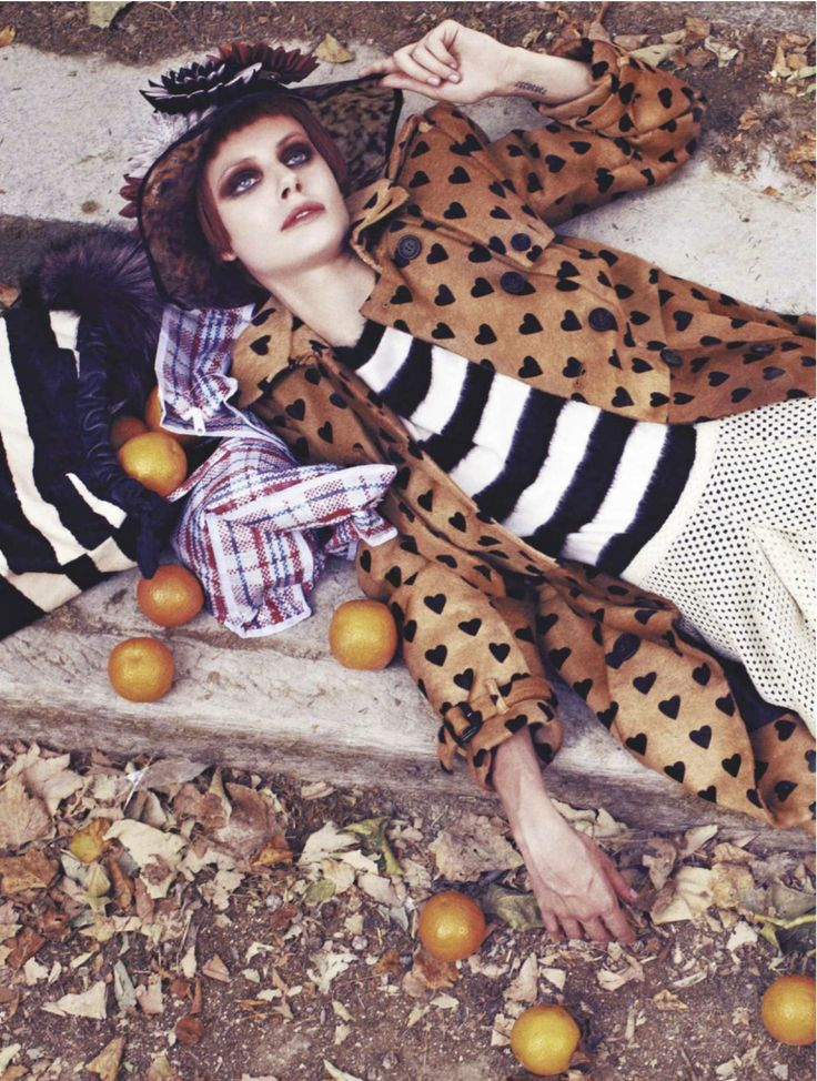 visual optimism; fashion editorials, shows, campaigns & more!: bag lady: ehren dorsey by stian foss for l'officiel paris november 2013