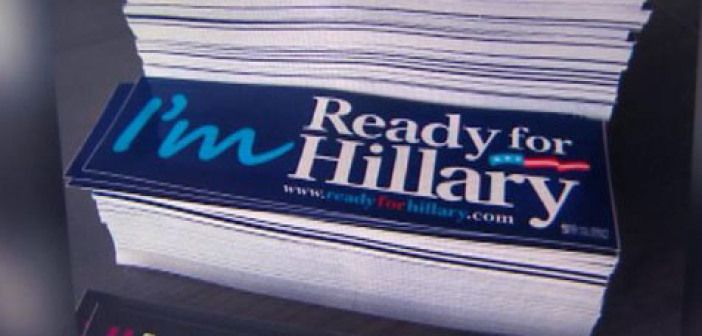 Ready For Hillary Clinton? Not With That Slogan!
