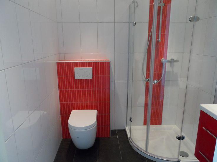 25 beste idee n over badkamer rood op pinterest - Mozaiek blauwe bad ...