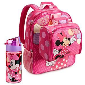 4dc670b6b56 Minnie Mouse Backpack   Lunch Tote Collection