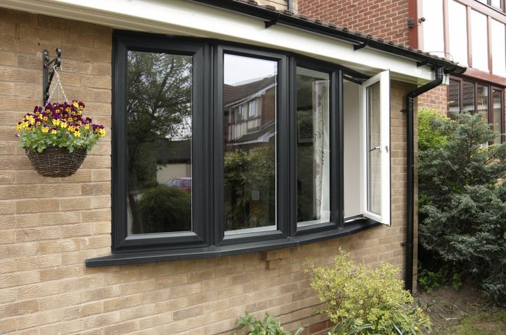 pvc cladding with grey windows - Google Search