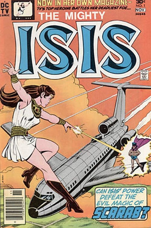"""The Mighty Isis  """"Number 1"""" (1976) DC Comics"""