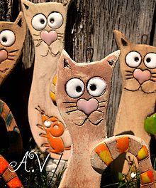 Dekorácie - Keramické micky s myškou alebo srdiečkom.. - 8334041_