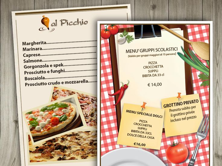 Pizzeria Roma centro offerta menù scolaresche