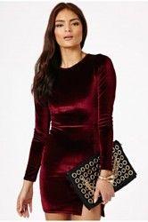 Autumn/Winter 2013 Fashion: Velvet Dresses
